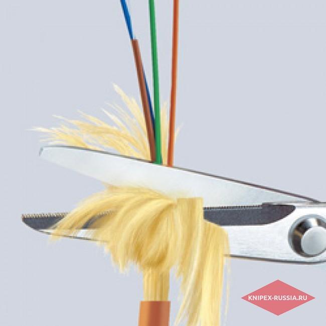 Ножницы для волокна KEVLAR® KNIPEX KN-9503160SB