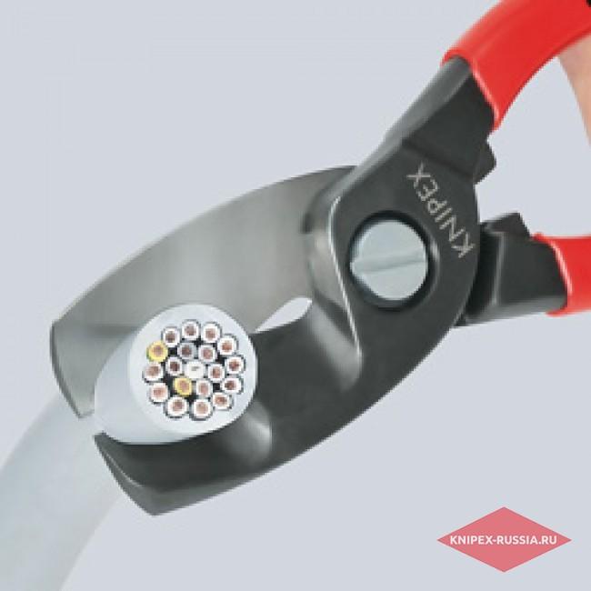 Ножницы для резки кабелей с двойными режущими кромками KNIPEX KN-9511200