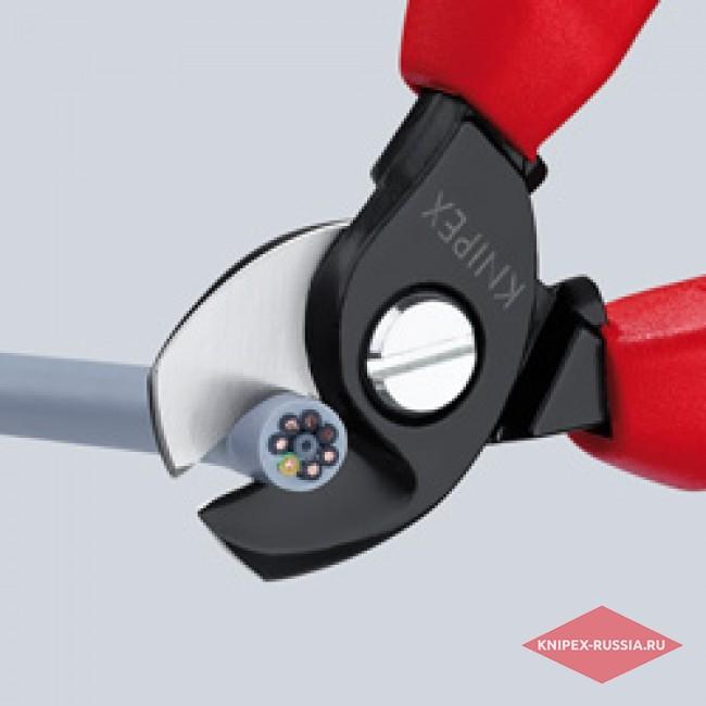 Ножницы для резки кабелей с раскрывающей пружиной KNIPEX KN-9522165