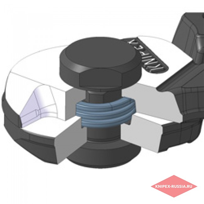 Ножницы для резки проволочных тросов кованые KNIPEX KN-9561190