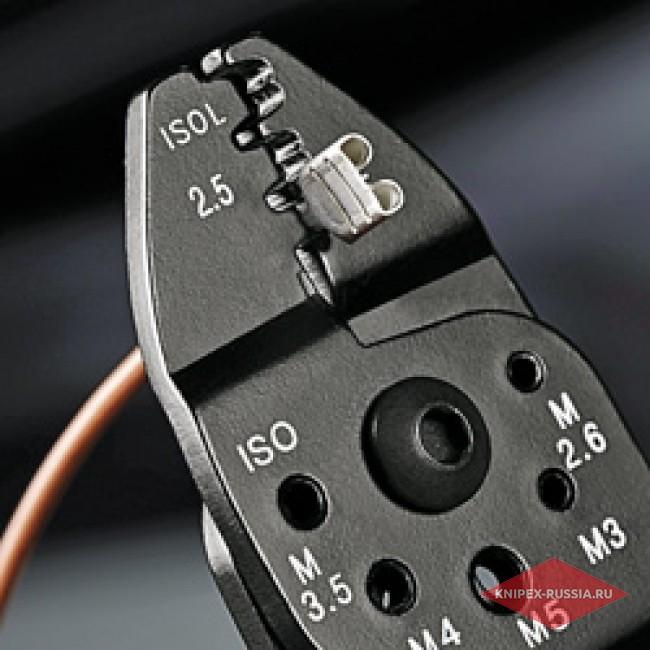Клещи зажимные для опрессовки KNIPEX KN-9722240