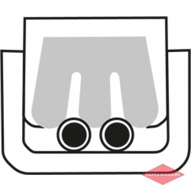 Инструмент для опрессовки для штекера Scotchlok KNIPEX KN-975001