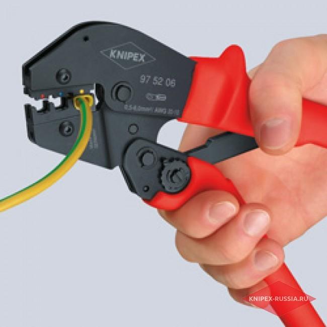Клещи зажимные для опрессовки KNIPEX KN-975209