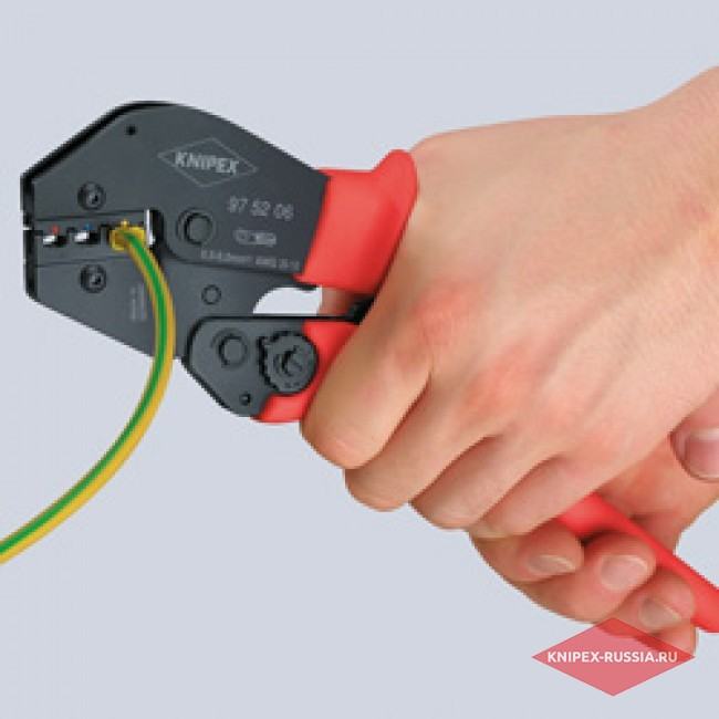 Клещи зажимные для опрессовки KNIPEX KN-975210