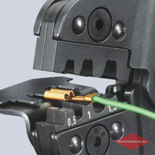 Клещи зажимные для опрессовки KNIPEX KN-975214