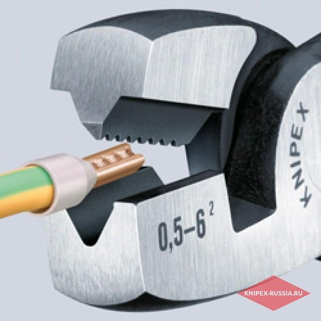 Инструмент для обжима контактных гильз KNIPEX KN-9781180