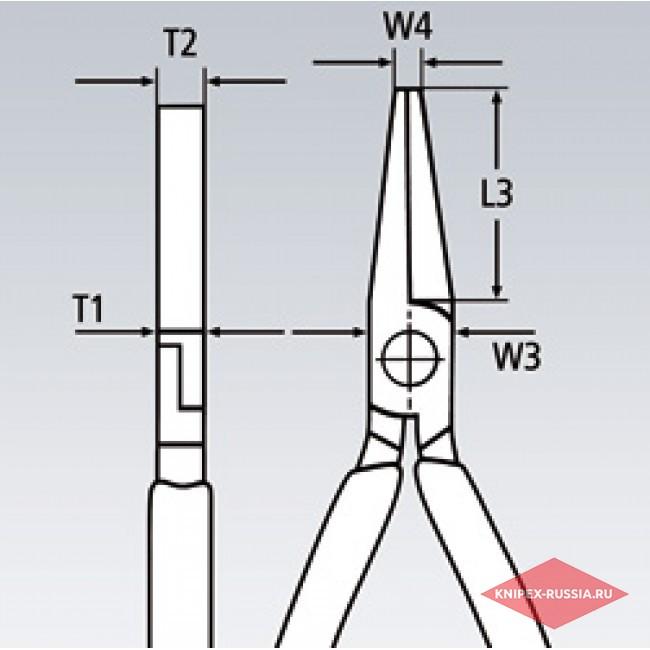 Плоскогубцы модель Утконосы KNIPEX KN-3303160