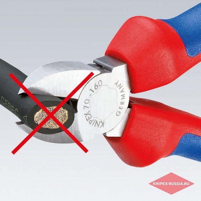 Ножницы для резки кабелей KNIPEX KN-9512165TBK